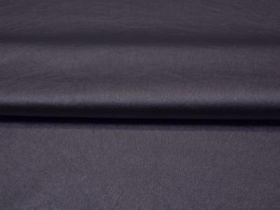 Weiches Kunstleder in Navy Metallic - 0,5 Meter - ...und kein Tier musste für dieses Leder sterben