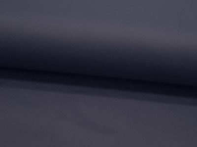 Weiches Kunstleder in Nachtblau Meter und