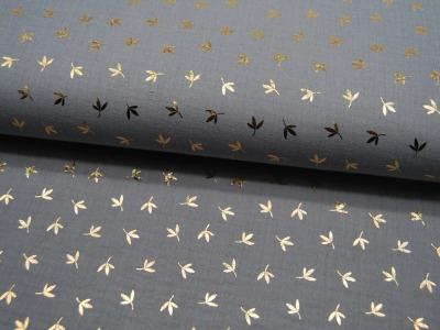 Kunstleder mattiert, metallic SENF - 50 x 138 cm - ...und kein Tier musste für dieses Leder sterben