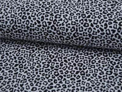 Baumwolle - Leopardenmuster SCHWARZ/WEISS - 05
