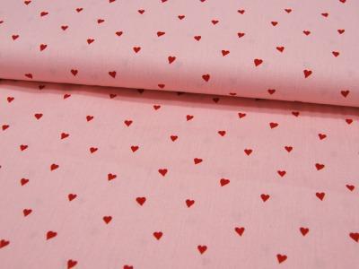 You re Sweetheart Herzen auf Rosa Baumwolle