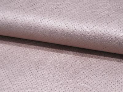 Kunstleder Lochmuster Jersey Leather Punch in