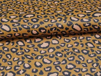 Kunstleder mit Leopardenmuster cm und kein