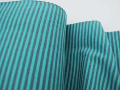 Bündchen Ringelbündchen Grau-Mint cm im Schlauch