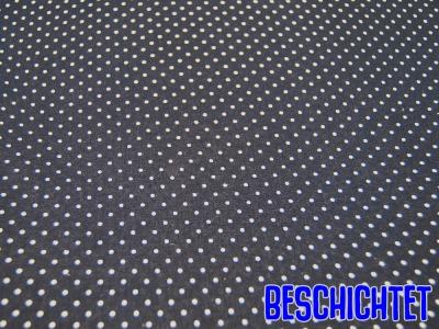 Beschichtete Baumwolle Petit Dots Nachtblau- cm