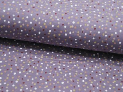 Jersey Mix Dots Bunte kleine Punkte
