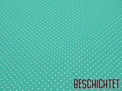 Beschichtete Baumwolle Petit Dots Salbei- cm
