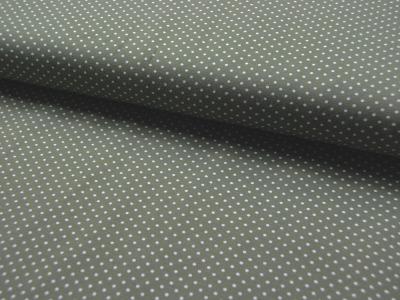 JERSEY - Olivgrün mit weißen Punkten - 0,5 m