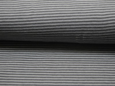 Jersey - Streifen Dunkelgrau-Grau - 0.5 Meter