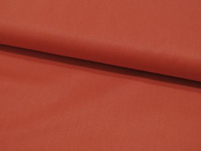 Baumwolle Uni - Terracotta 05