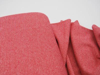 Bündchen Ringelbündchen Rot-Weiß cm im Schlauch