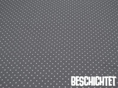 Beschichtete Baumwolle Petit Dots Grau- cm