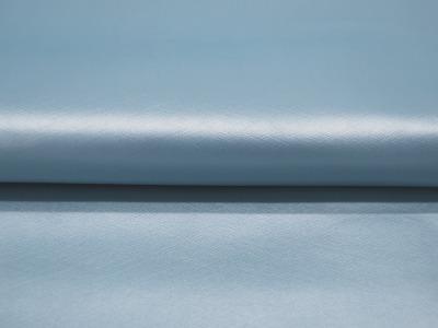 Kunstleder mattiert metallic Hellblau cm und