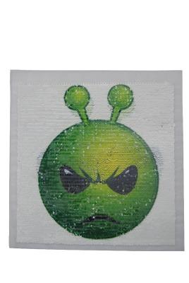 VE 10 Alien grün / schwarz / weiss