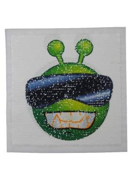 VE 50 Alien grün / schwarz / weiss