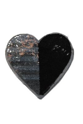 VE 50 Herz schwarz /silber