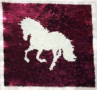 VE 50 Pferd pink /weiss
