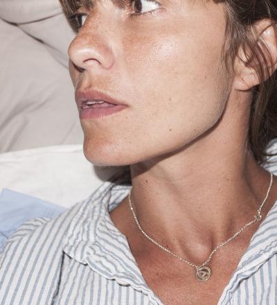 Inspiring Initials - Kette Silber