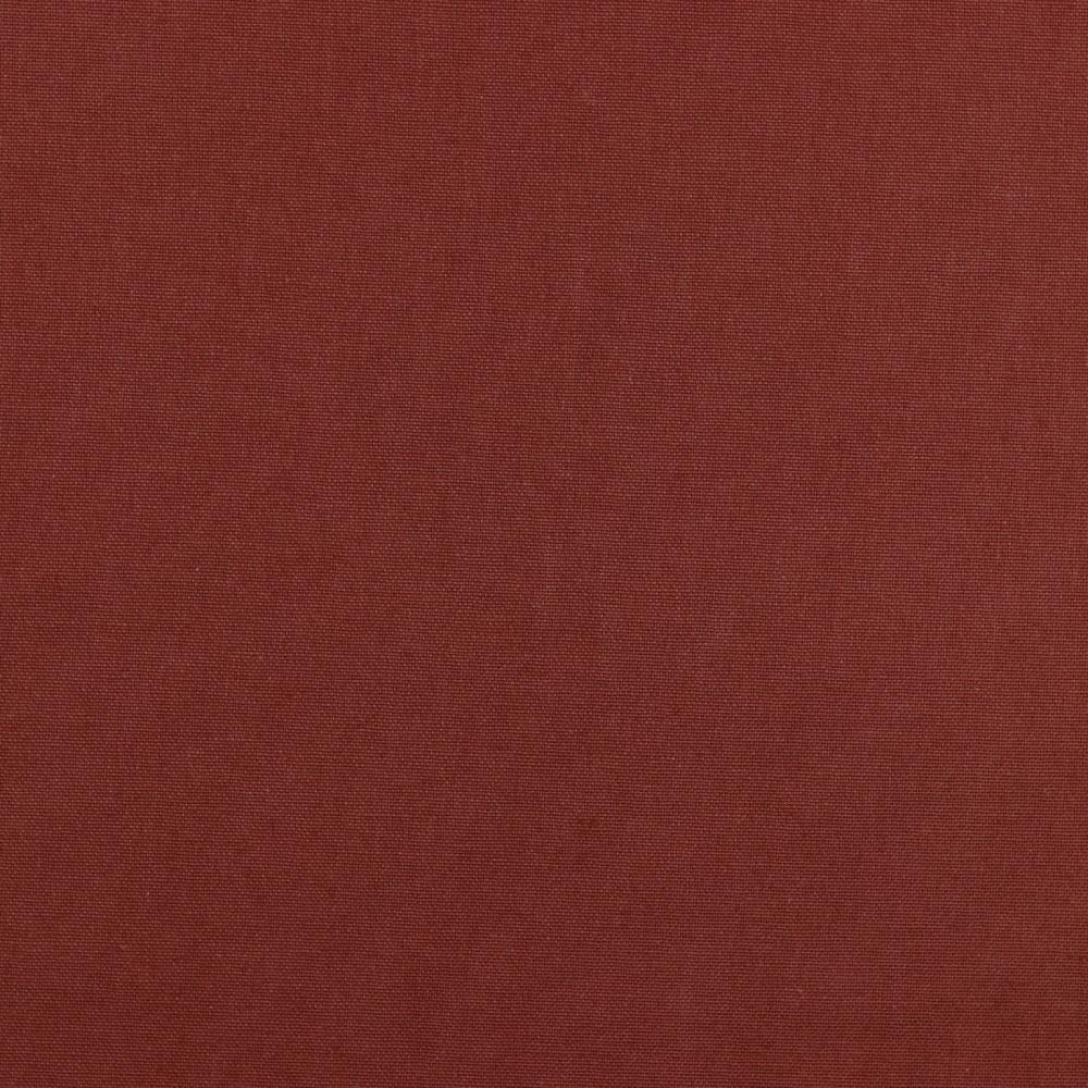 05m Canvas Uni terracotta rotbraun