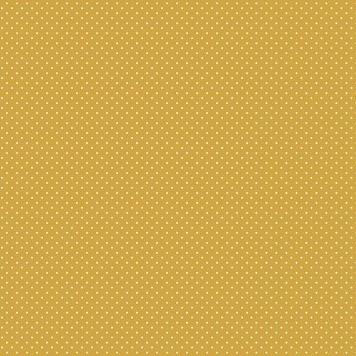 05m Baumwolle Minipunkte Minidots honig