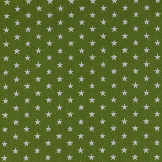 05m BW kiwigrün Sterne Petit Stars