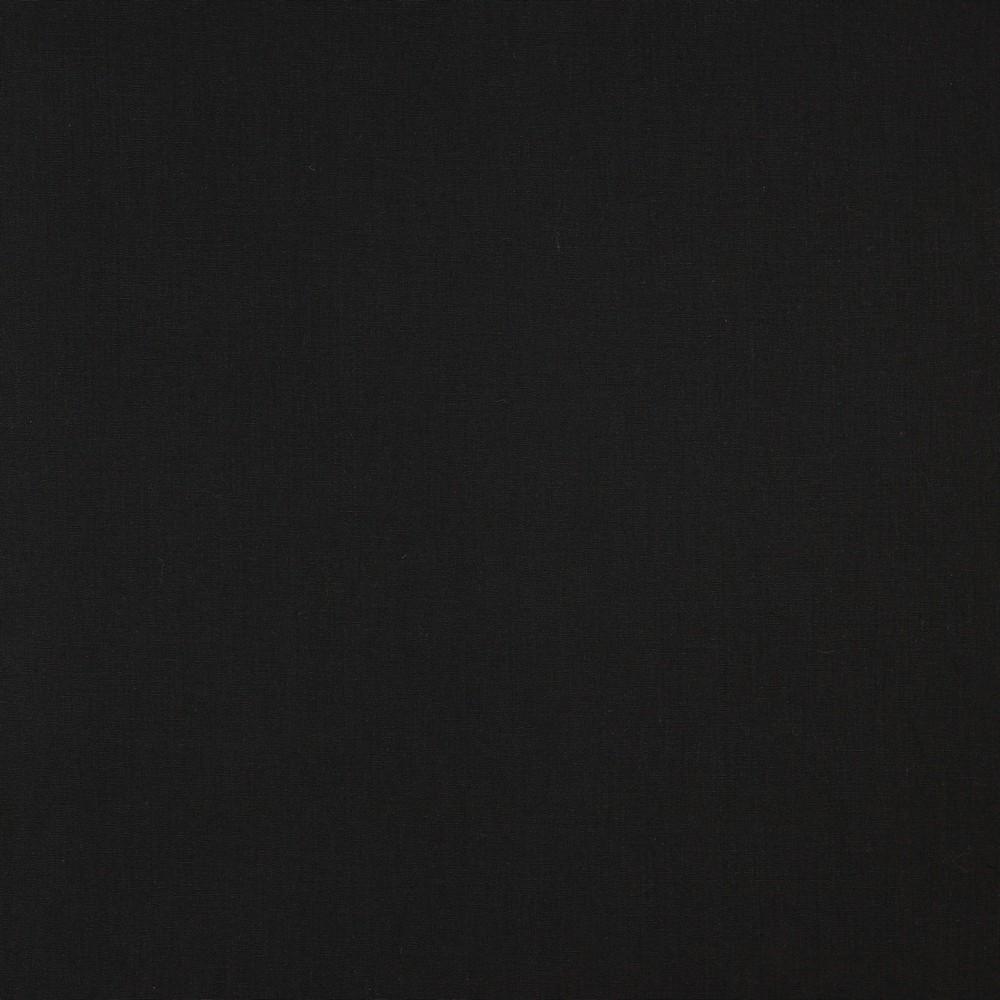 05m Baumwolle Uni schwarz