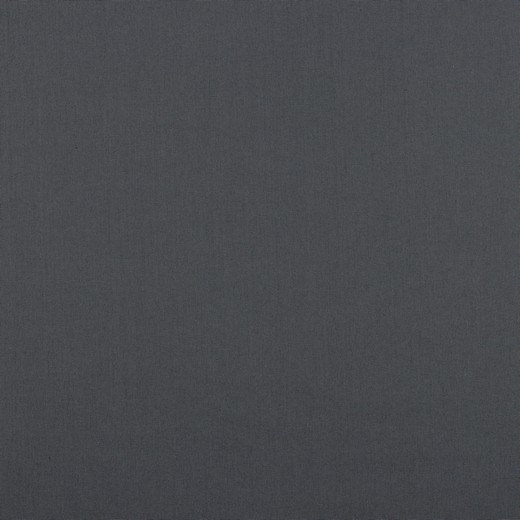 05m Baumwolle Uni dunkles Grau