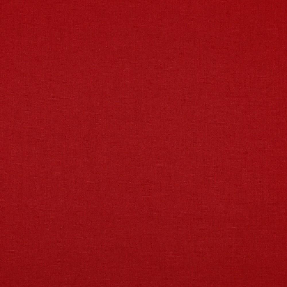 05m Baumwolle Uni rot 018