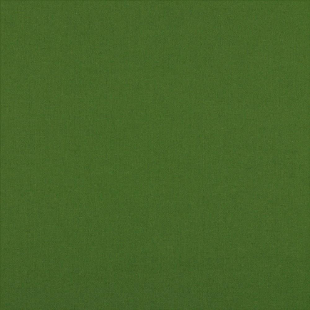 05m Baumwolle Uni waldgrün