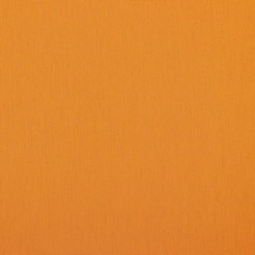 05m Baumwolle Uni aprikose hellorange
