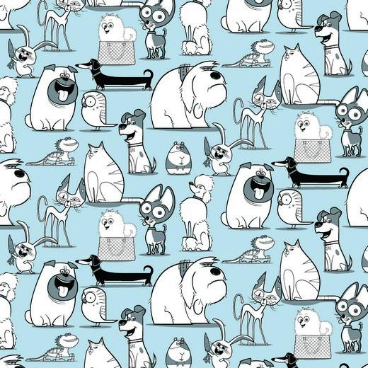 05m Jersey PETS Hunde Haustiere blue