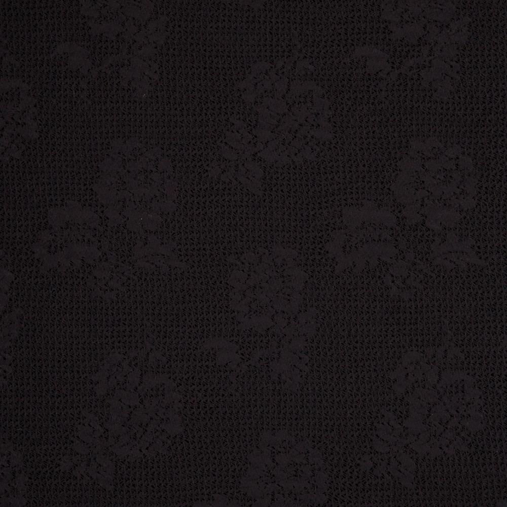 05m Spitze floral Blumen schwarz