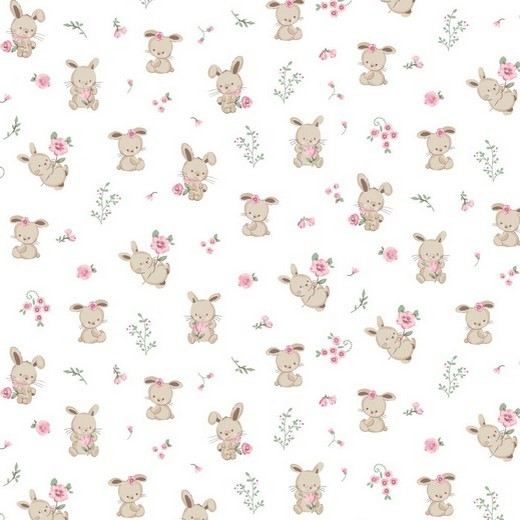 05m BW GOTS Sweet Bunny Kleines