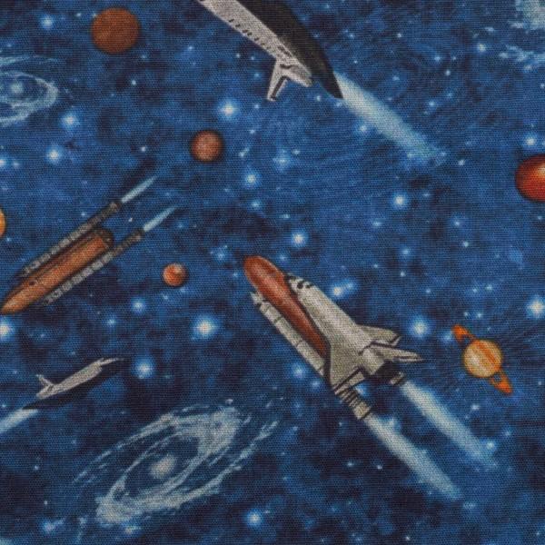 05m BW Kim Raketen Weltall blau