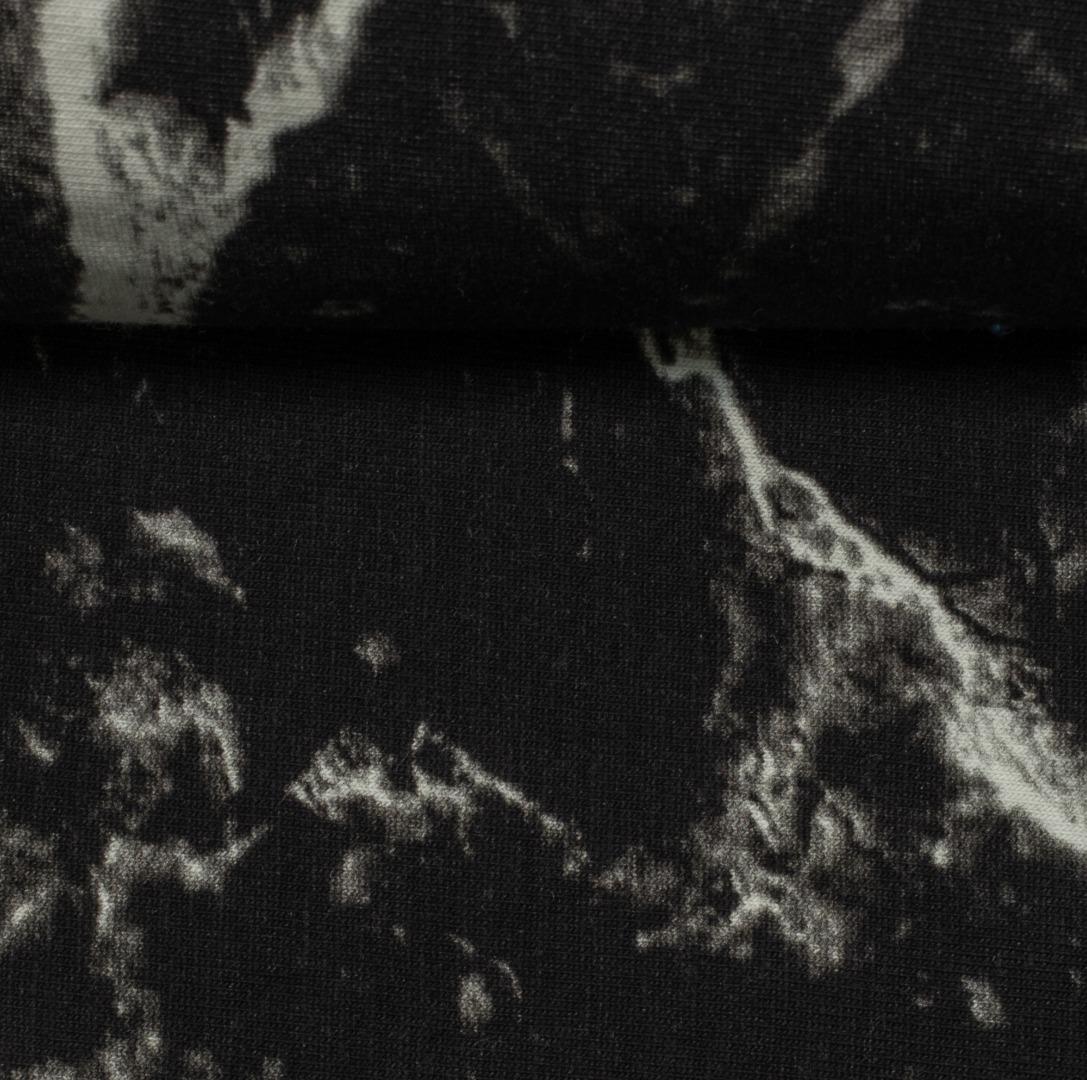 05m Jersey Marmor schwarz weiß 3