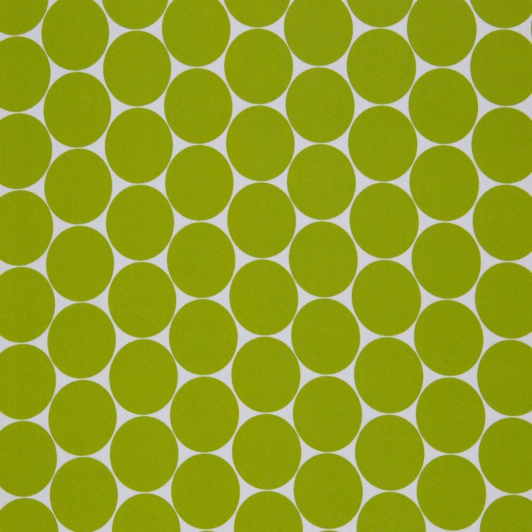 05m BW apfelgrün Doro Punkte cm