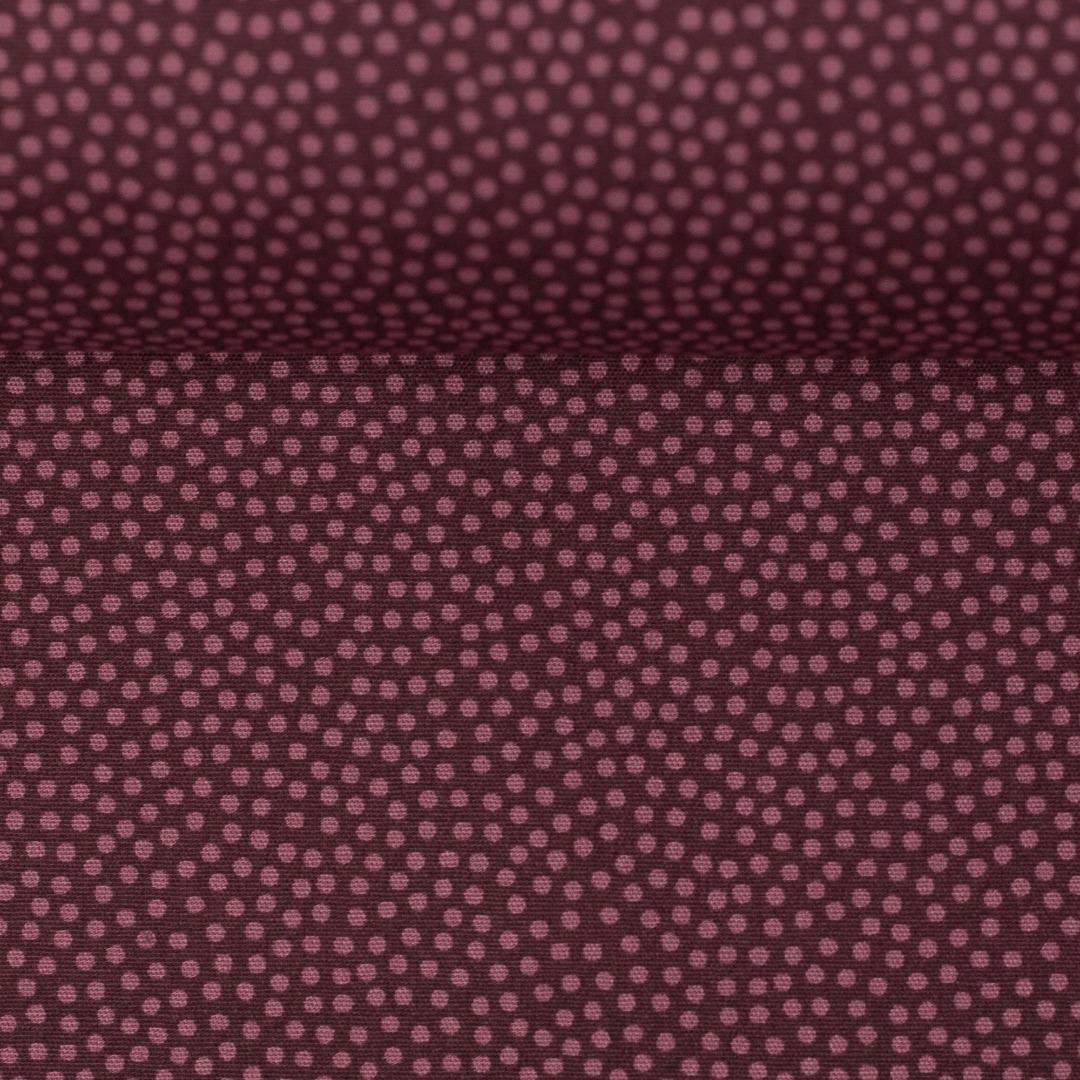 05m BW Dotty Punkte mm aubergine