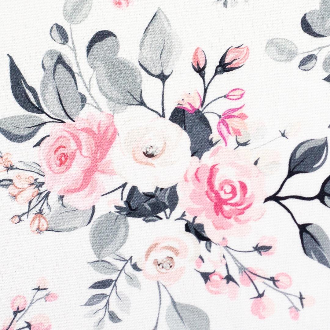 05m BW Sudbina kleine Rosen grau