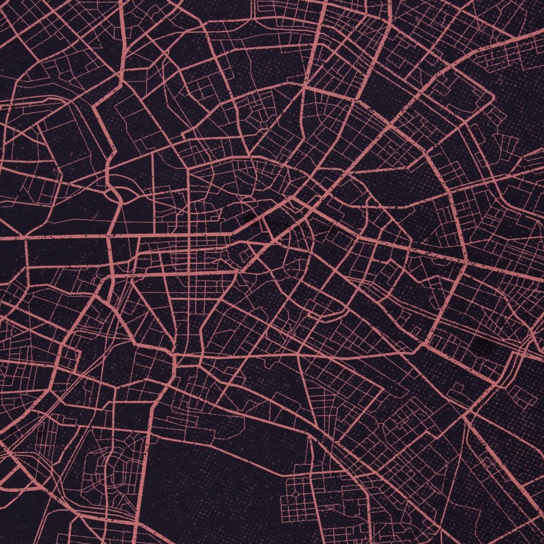 Panel Urban Jungle Network by Thorsten