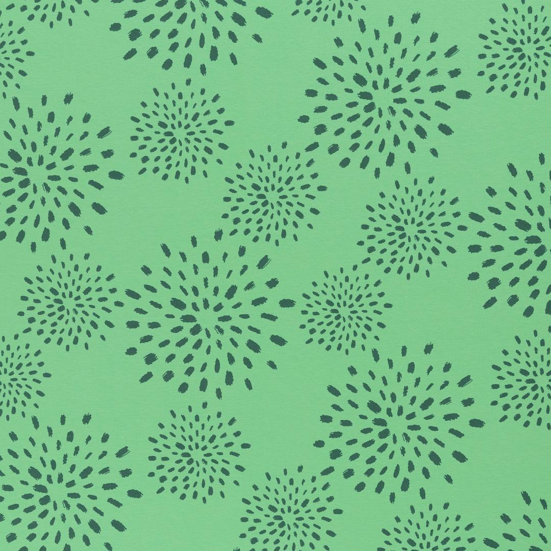 05m Jersey Veronika Flowers grün 2