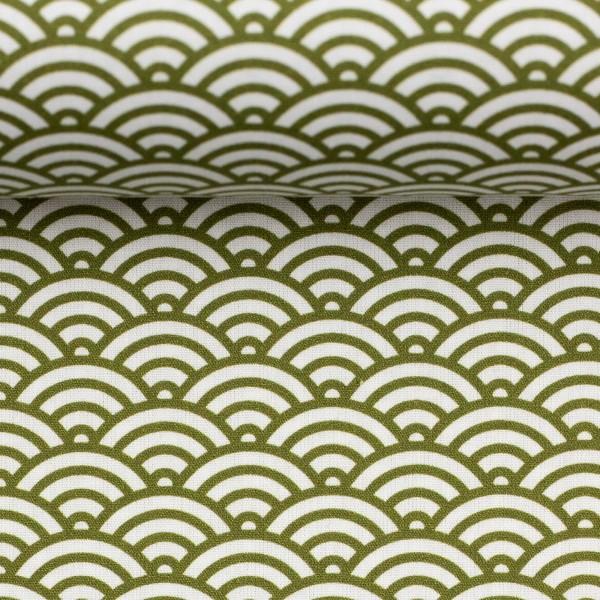 05m BW Kurt Muscheldesign oliv grün