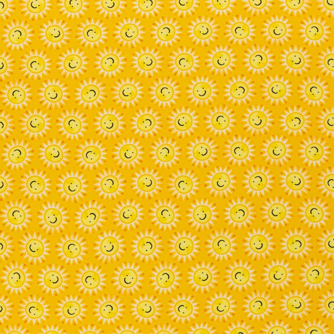 05m Jersey Sun Lemon Sonnen Gelb