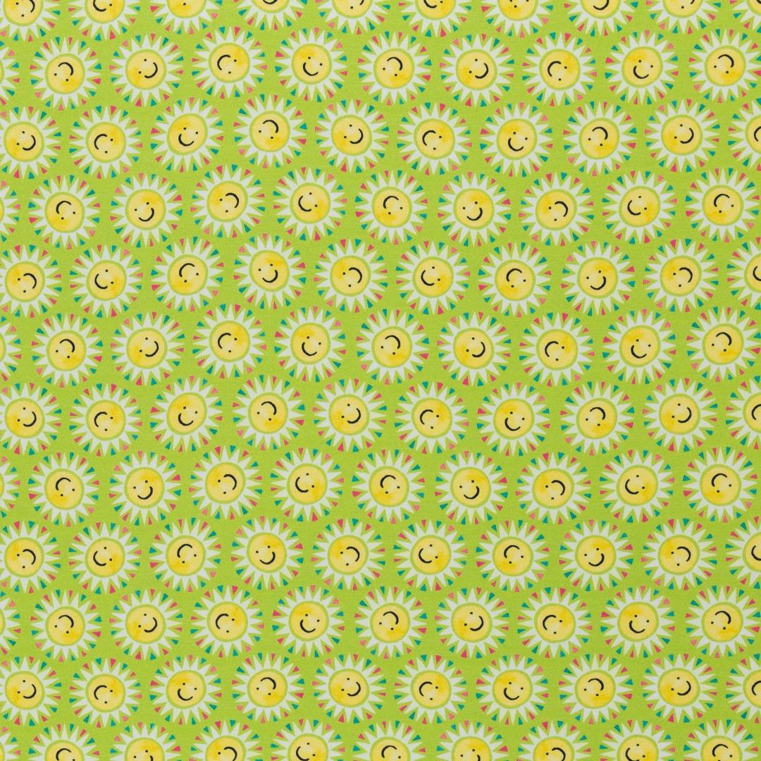 05m Jersey Sun Lemon Sonnen grün