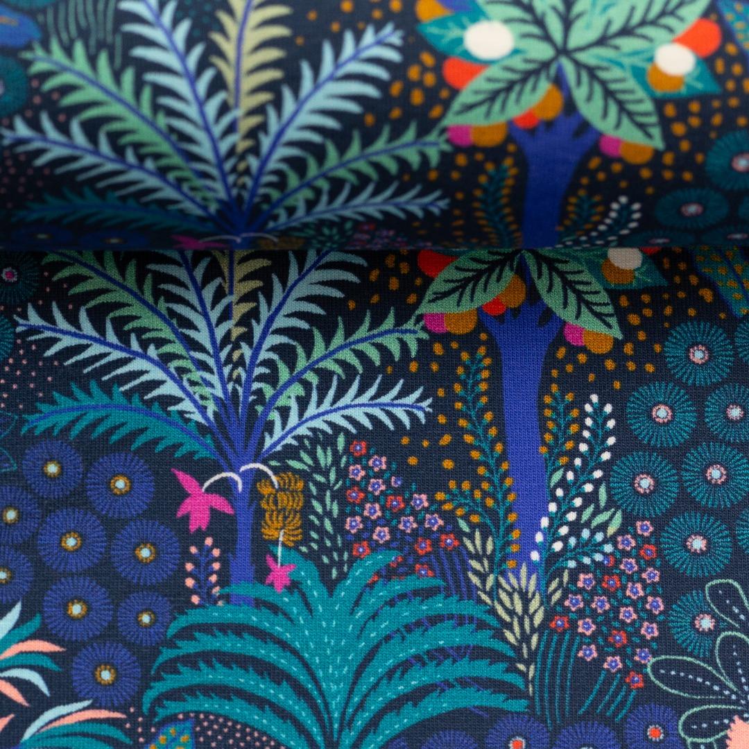 05m Jersey Tropical Forrest Palmen Bäume