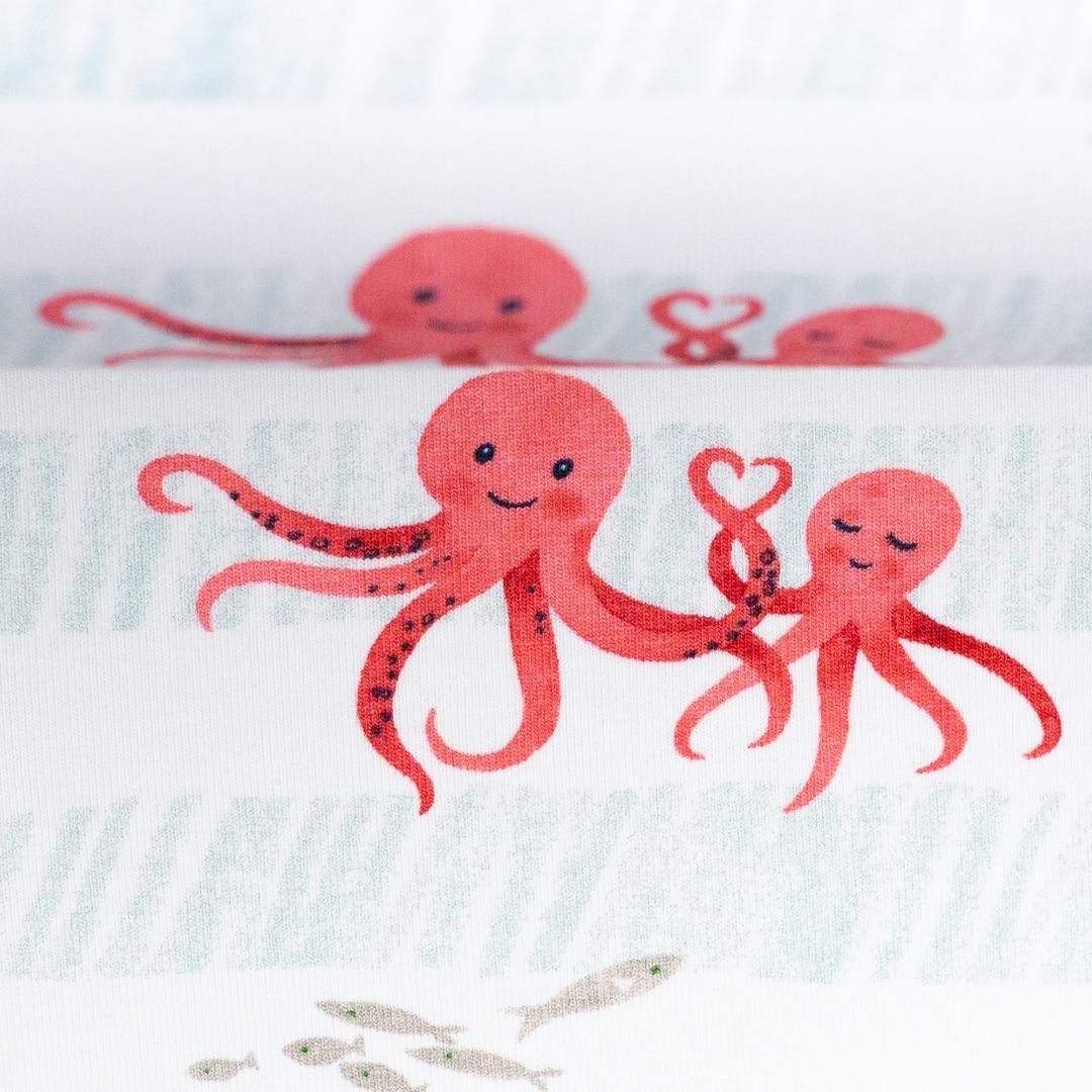 05m Jersey Nautical Baby Tintenfisch Octopus