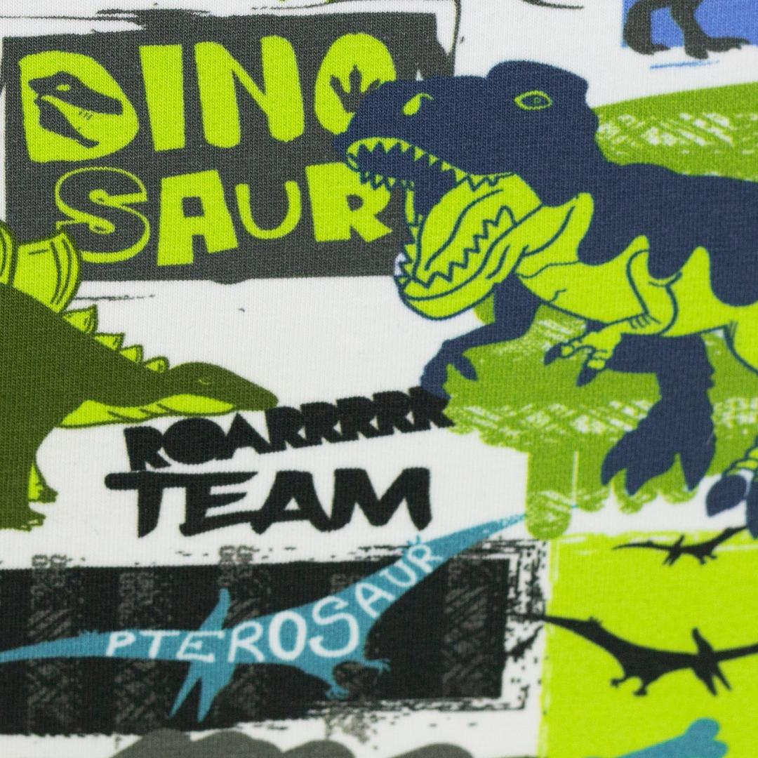 05m Jersey Dino Dinosaurier lime grün