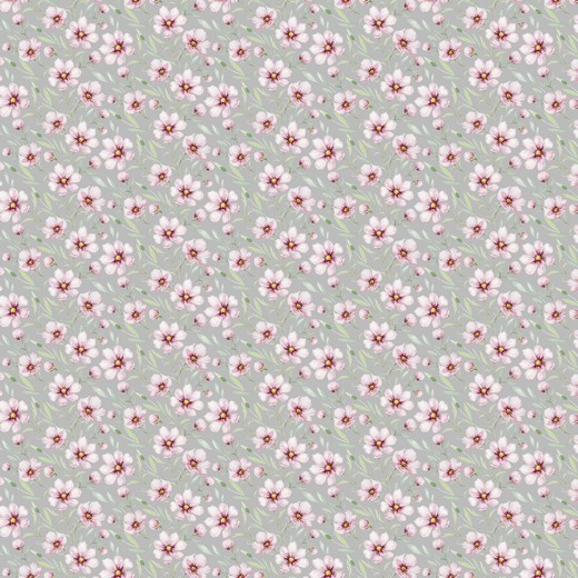 05m Jersey Digitaldruck Federblüte hellgrau rosa