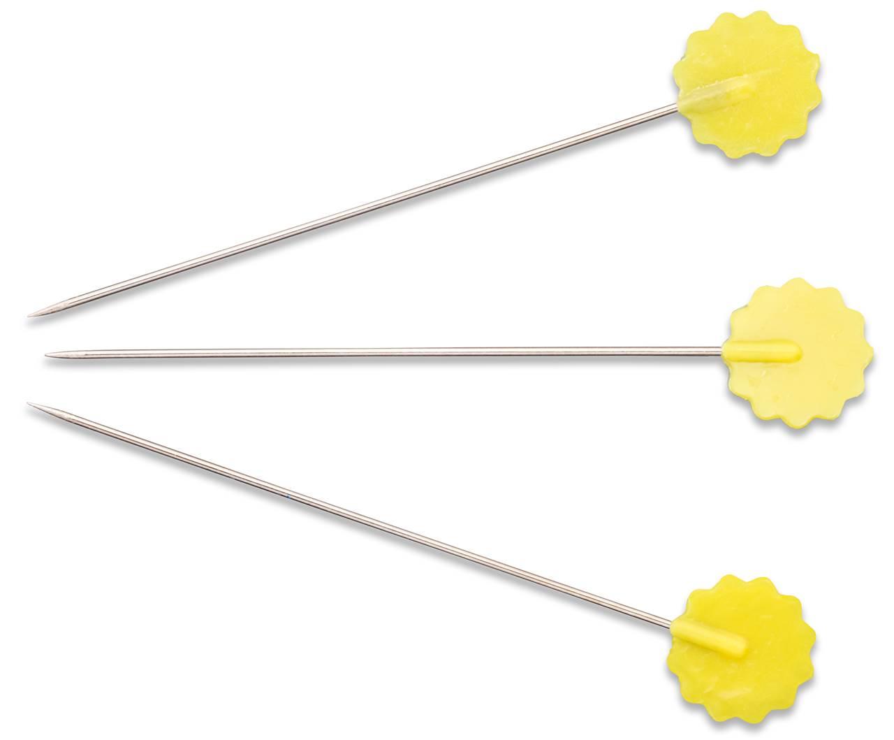 1Dose Quiltstecknadeln mit Blumenkopf Prym Inhalt: