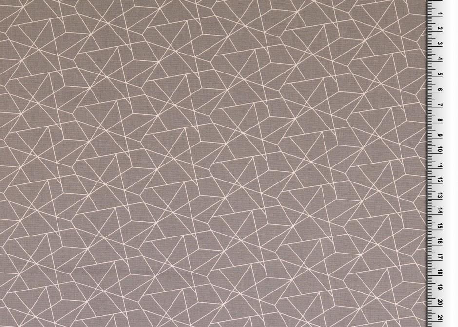05m BW grafisches Muster Linien grau