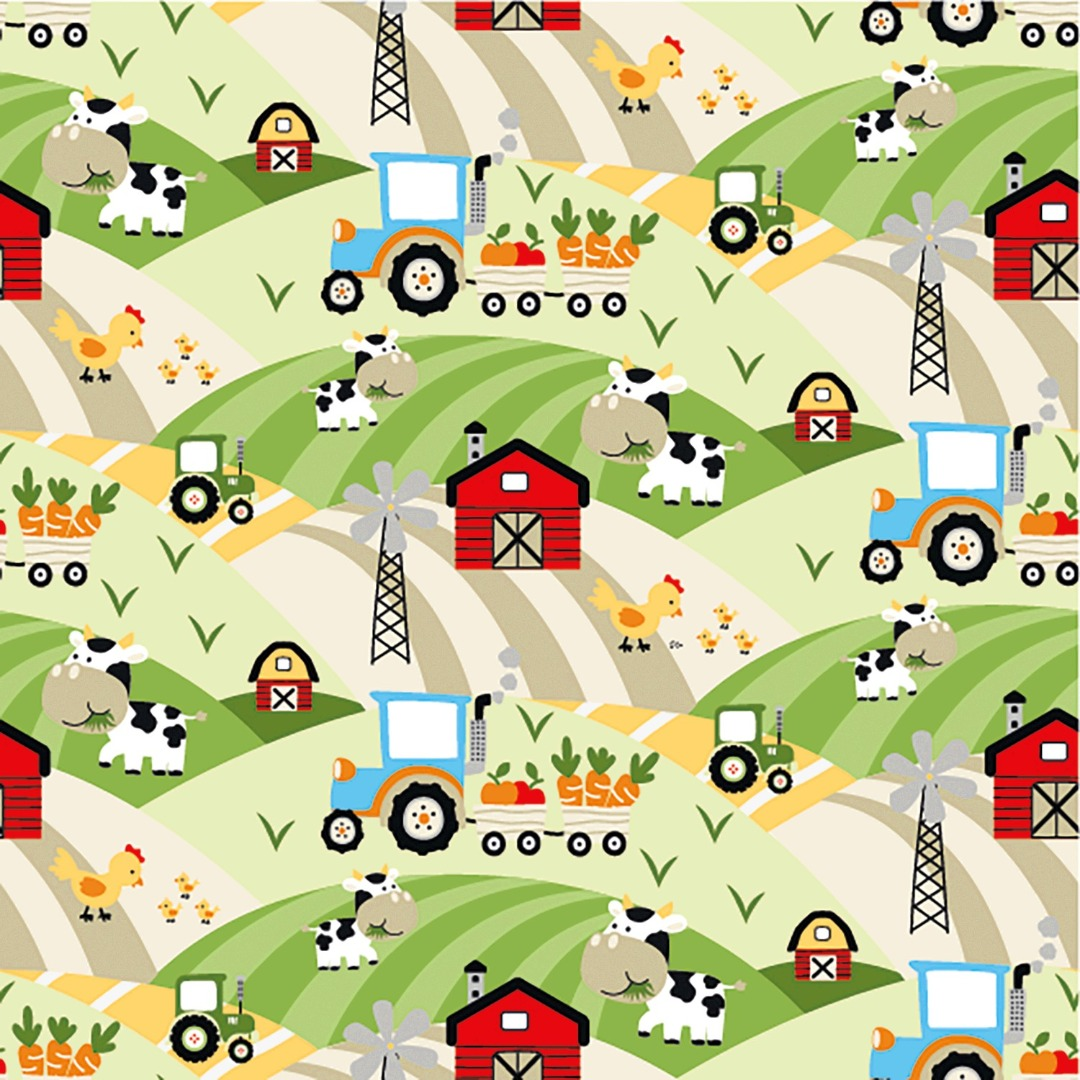 05m Jersey Bauernhof Auf dem Feld
